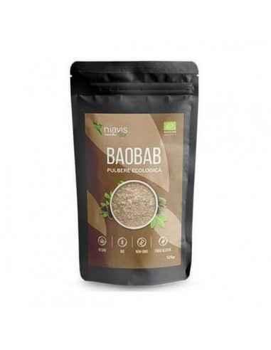 BAOBAB PULBERE ECOLOGICA (BIO) 125GR - Niavis Cunoscut sub numele de Copacul vietii, pudra de baobab este un superaliment comple
