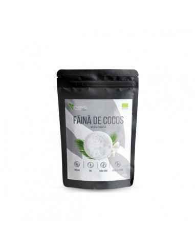FAINA COCOS PULBERE ECOLOGICA (BIO) 250GR - Niavis Faina de cocos este alternativa ideala la faina alba de grau, proprietatilor
