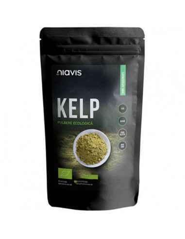 KELP PULBERE ECOLOGICA(BIO) 125GR - Niavis Kelpul este o alga deosebit de nutritiva ce traieste in apele marine. Contine peste 6