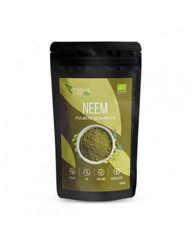 NEEM PULBERE ECOLOGICA (BIO) 125GR - Niavis Planta este folosita atat pentru ingrijirea pielii si a parului, a cavitatii bucale,