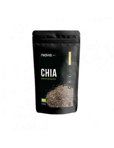 SEMINTE DE CHIA ECOLOGICE (BIO) 125GR - Niavis Semintele de chia sunt bogate in antioxidanti si sunt pline de fibre, magneziu, z