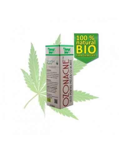 OzoneAcne Ulei pentru Acnee 20ml HempMed Pharma Se recomanda ca fiind cel mai eficient ulei esential in tratarea ACNEII.