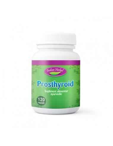 Prosthyroid 120cps Indian Herbal Prosthyroid este un produs special conceput pentru a regla functia tiroidiana si a reface echil