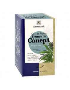 Ceai canepa Bio 18 plicuri Sonnentor, Ceai canepa Bio18 plicuri SonnentorCeaiul de canepa este una dintre cele mai sanatoase ba