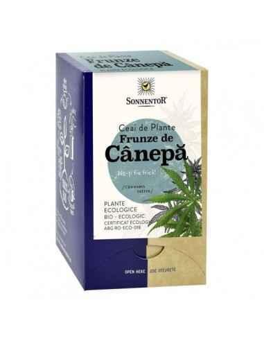 Ceai canepa Bio18 plicuri SonnentorCeaiul de canepa este una dintre cele mai sanatoase bauturi din lume. Este plin de vitamine,