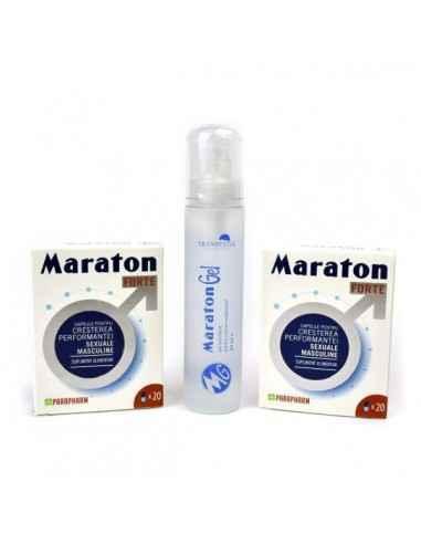 Pachet Maraton Forte 20 cps x2 cutii + Maraton Gel 50ml Pachet Special creat pentru cupluri.