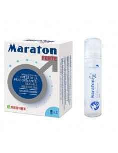 Maraton forte 4 cps Parapharm + Maraton Gel, Maraton forte4 capsule Parapharm + Maraton GelCapsule pentru creșterea performanțe