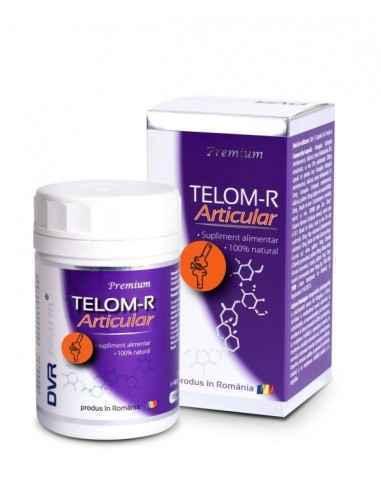 Telom-R Articular 120cps DVR Pharm Produsul are ca ingredient principal Astragalus, plantă ce conține substanțe active cu acțiun