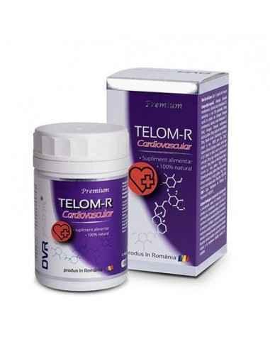 "Telom-R Cardiovascular 120cps DVR Pharm Telom-R Cardiovascular 120 capsule DVR Pharm contine ""substante naturale cu actiune asup"