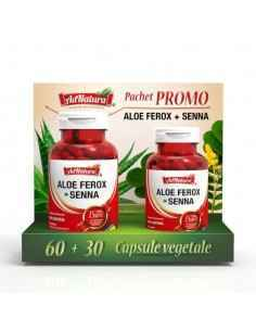 Aloe Ferox + Senna 60 cps AdNatura