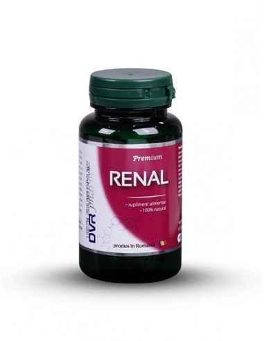 Renal 60  cps DVR Pharm, Renal 60 cps DVR PharmEste un amestec din nu mai puțin de 10 ingrediente, care susțin activitatea apara