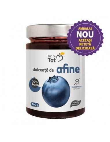 Dulceata Afine fara Zahar 360g Dacia Plant Dulceata de afine Bun de Tot reinvie reteta autentica cu ingrediente 100% naturale, s
