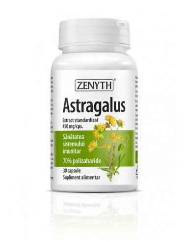 Astragalus 30cps Zenyth Astragalus este un supliment alimentar pe bază de extract standardizat din rădăcină de Astragalus, recom
