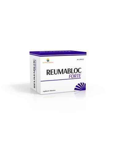 REUMABLOC FORTE 60 capsule Sun Wave Pharma Forță și energie în articulații. Ajută la funcționarea normală a sistemului osteoar