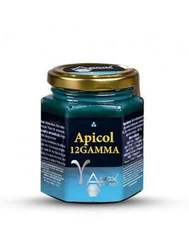 Mierea albastra -APICOL12GAMMA 230g ApicolScience Apicol12Gamma este un produs apicol format din 12 ingrediente, cu un rol benef