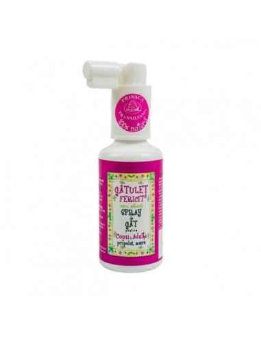 Gâtuleţ Fericit - Spray de gât pentru copii şi adulţi 20 ml Prisaca Transilvania
