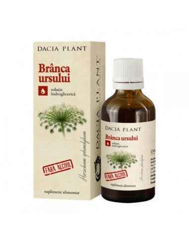 Tinctura Branca Ursului fara Alcool 50 ml Dacia Plant