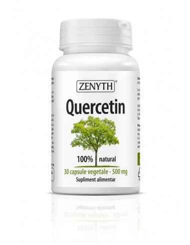 Quercetin 500mg 30cps ZenythQuercetin este un supliment alimentar 100% natural, recomandat pentru menținerea sănătății sistemulu
