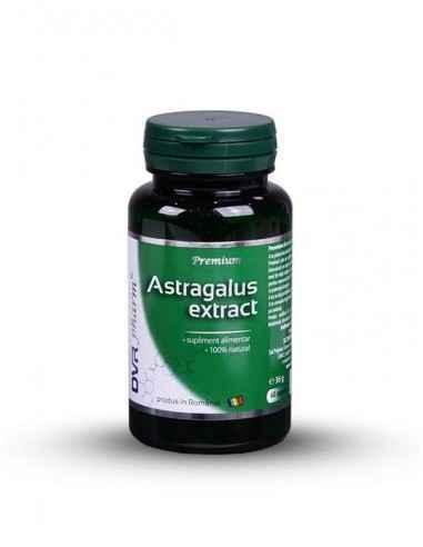 Astragalus Extract 60 + 30 cps DVR Pharm Susține sistemul imunitar.