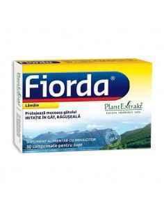 Fiorda cu Lamaie 30 cpr PlantExtrakt