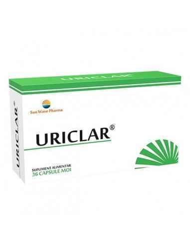 Uriclar 36 cps Sun Wave Pharma Uriclar are efect direct asupra microcirculatiei renale cu cresterea fluxului sangvin renal care