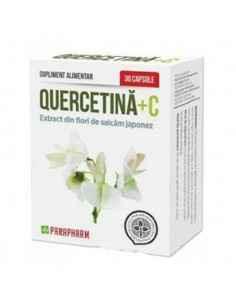 Quercetina + C 30cps Parapharm