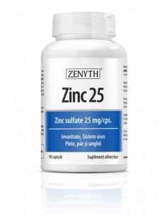 Zinc 25 90 capsule Zenyth
