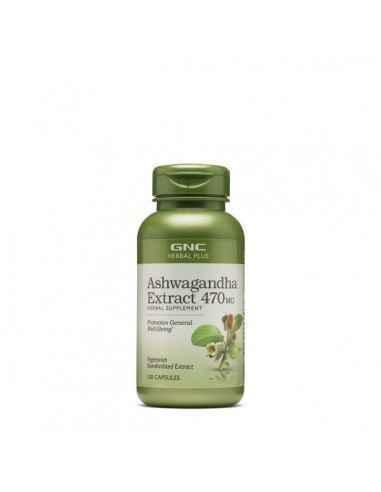 GNC Herbal Plus®Extract de Ashwagandha 470 mg GNC Herbal Plus® Extract de Ashwagandha 470 mg este un supliment din plante ce su