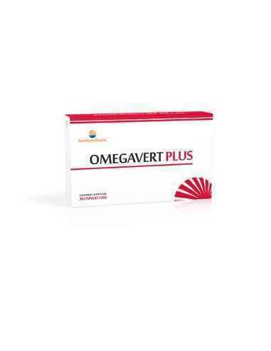 OMEGAVERT PLUS 30 capsule Sun Wave Pharma, OMEGAVERT PLUS 30 capsule Sun Wave Pharma Normalizează profilul lipidic. Recomandari: