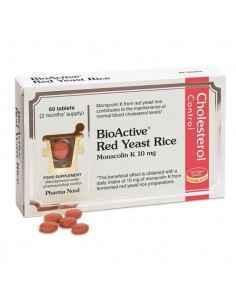 Drojdie de Orez Rosu 60 cpr Pharma Nord, Drojdie de Orez Rosu - BioActive Red Yeast Rice 60 cpr Pharma NordPulbere cu drojdie de