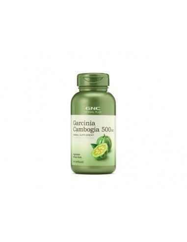 GNC Herbal Plus®Garcinia Cambogia 500 mg Garcinia cambogia este copac nativ din India si Sud-estul Asiei, fructul semanand cu u