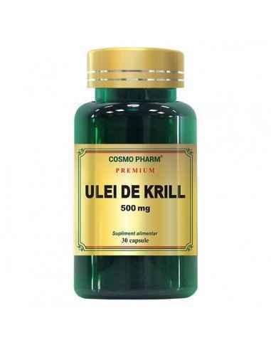 Ulei de Krill 500mg 30 capsule Cosmopharm Uleiul de Krill Superba 2™ este obtinut prin tehnologie exclusiva FLEXITECH: ultrac