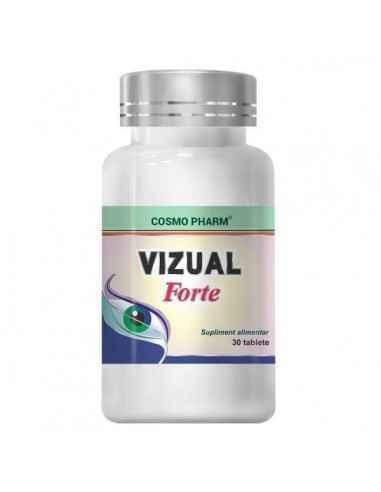Vizual Forte 30 tablete Cosmo Pharm, Vizual Forte 30 tablete Cosmo PharmVizual Forte va propune o formula ideala si naturala d