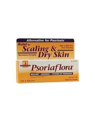 Psoriaflora® Psoriasis Cream 28.35gr Boericke & Tafel, Psoriaflora® Psoriasis Cream - Crema pentru psoriazis Crema cu un continu
