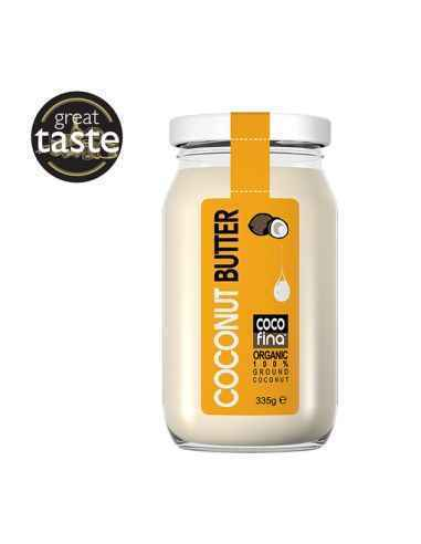 Unt de cocos Bio 335 gr CocoFina, Activ Pharma Star, Unt de cocos Bio 335 gr CocoFina Untul de cocos Organic CocoFina este un pr