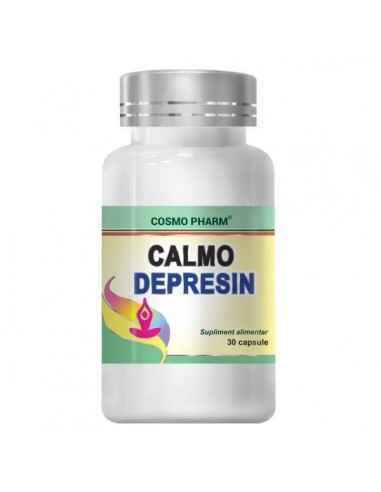 CALMO DEPRESIN 30CPS - Cosmopharm Anti depresiv. Echilibreaza emotional. Eficient in tratarea starilor depresive si anxioase. In
