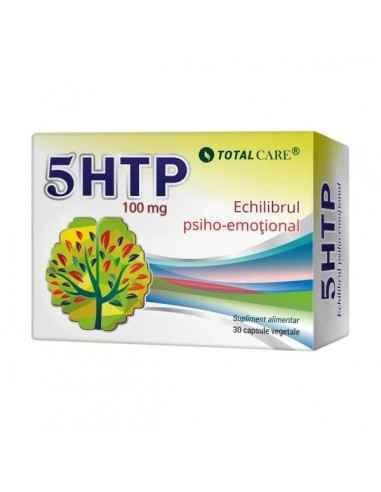 5 HTP 30cps - Cosmopharm Cel mai bun antidepresiv natural. Induce calmul, siguranta de sine si relaxarea. Reduce unele forme de