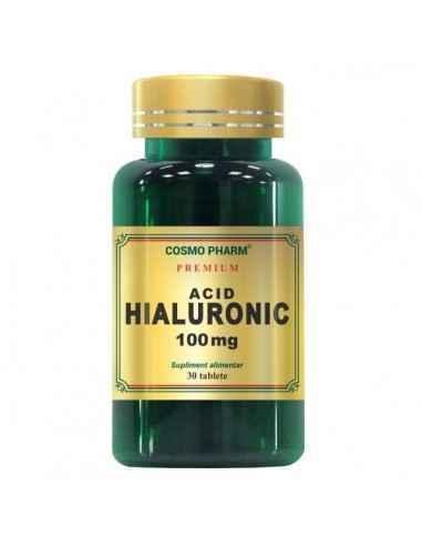 ACID HIALURONIC 30CPR - Cosmopharm Efect anti-ageing. Mareste mobilitatea articulatiilor. Accelereaza vindecarea ranilor. Regene