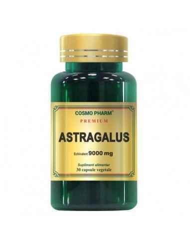 ASTRAGALUS EXTRACT 30CPS - Cosmopharm Stimuleaza sistemul imunitar si rezistenta organismului. Previne dezvoltarea tumorilor. Sc