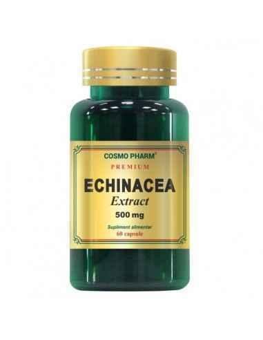 ECHINACEA EXTRACT 60CPS - Cosmopharm Organism super imunizat pregatit pentru sezonul rece. Creste capacitatea de aparare a organ