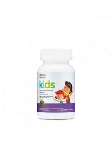 GNC Milestones™ Kids Immune Defense Jeleuri cu Aroma de Struguri Sustine rezistenta naturala si intareste sistemul imunitar al