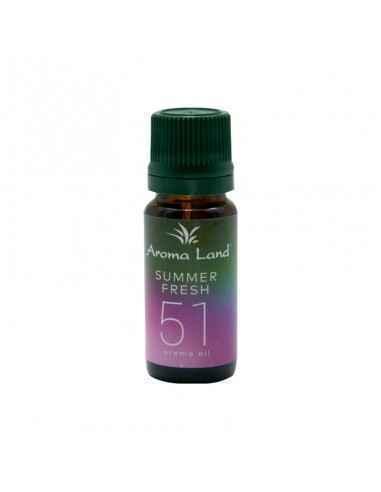 Ulei ParfumatSummer Fresh 10ml Aroma Land Folosirea uleiului parfumatSummer Fresh creează în căminul dumneavoastră o amb