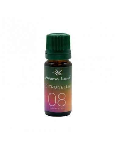 Ulei ParfumatCitronella 10ml Aroma Land Folosirea uleiului parfumatCitronella creează în căminul dumneavoastră o ambianț