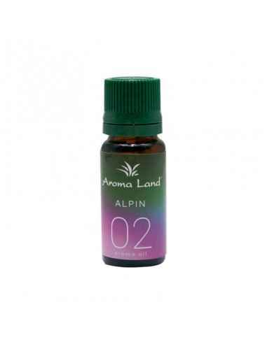 Ulei ParfumatAlpin 10ml Aroma Land Folosirea uleiului parfumatAlpin creează în căminul dumneavoastră o ambianță deosebit
