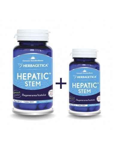 Hepatic Stem 60+10 capsule CADOU Herbagetica, Hepatic Stem 60+10 capsule CADOUHerbageticaRegenerează țesutul hepatic, scade ni