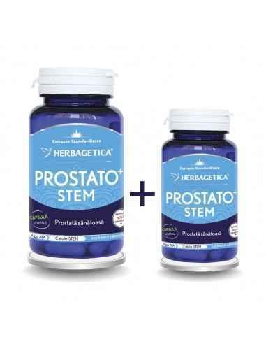 Prostato Stem 60+10 capsule CADOUHerbagetica Susține sănătatea și funcționarea normală a prostatei, stimulează activitatea celu