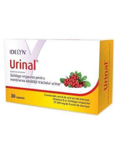 Idelyn Urinal 30 capsule Walmark, Idelyn Urinal 30 capsule Walmark Combinație unică de extract de merișor, vitamina D și Solidag