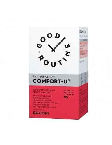 COMFORT-U 30CPS- SECOM Supliment alimentar Comfort-U®, GOOD ROUTINE®, 30 capsule vegetale, pe baza de D-manoza, Merisor si L