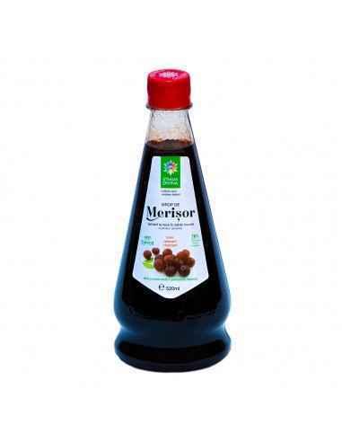 Sirop de Merisor 520 ml Santo Raphael Sirop de Merisor contine fructele de merișor macerate în zahăr invertit, la temperatu