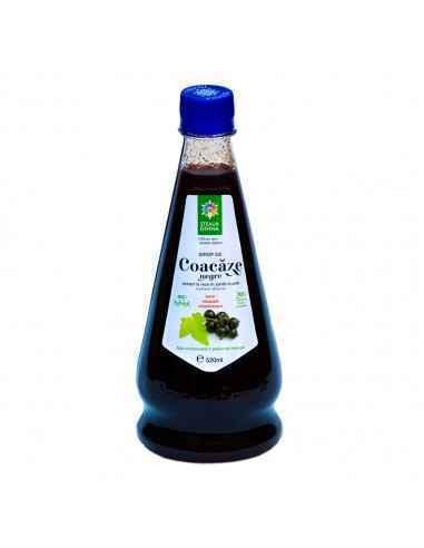 Sirop de Coacaze Negre 520ml Steaua Divina, Sirop de Coacaze Negre 520ml Steaua Divina Fructele de Coacăz-negru sunt bogate în